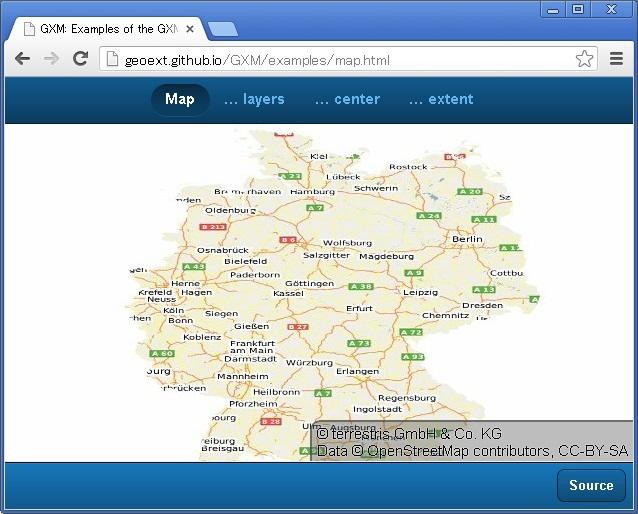 gxmを使ったmapのexample