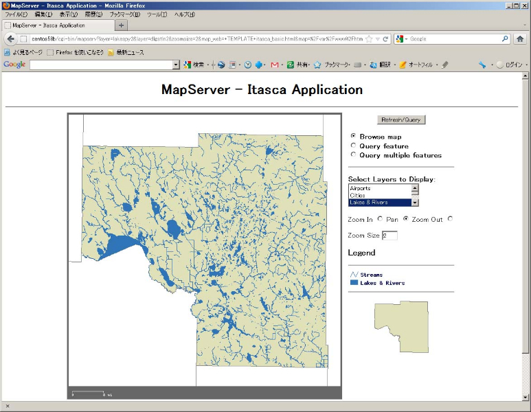 MapServer Demo2
