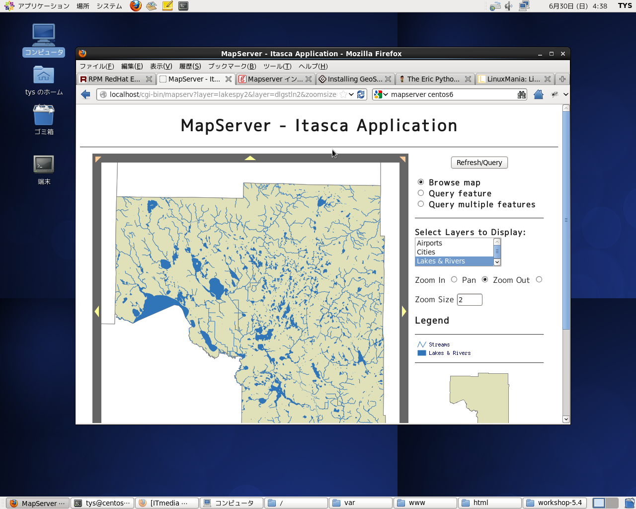MapServer6.0.3 Demo2